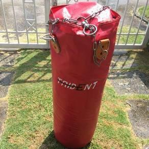 Trident punching bag