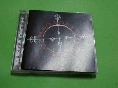 CD MEGADETH :Cryptic Writings Album (2004)