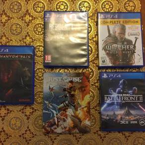 Ps4 hot games take all rm500
