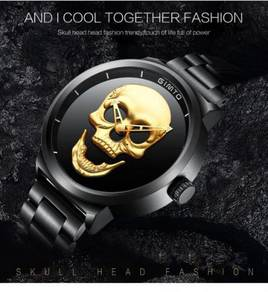 Punk 3D Skull Men Watch Brand GIMTO