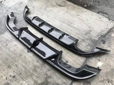 Volkswagen Golf GTI MK7 Carbon Fiber Diffuser