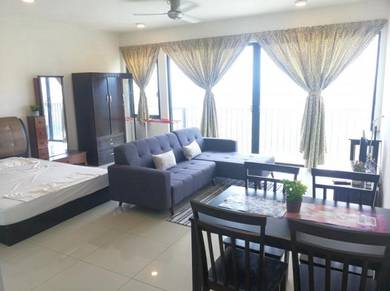Trefoil Studio Fully Furnished Grill Astro Nice view Level 12 Blk A
