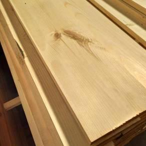 Kayu Pine Baru 5ft x 7in x 1in
