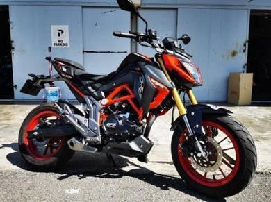 GPX Demon GN 150 Demo Bike For Sale Offer Offer