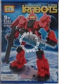 Nano brick - LoZ 9351 ZAKU II Gundam Nano