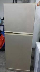 Grey Sharp Peti Ais Refrigerator Fridge Freezer
