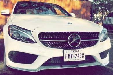 Mercedes W205 C200 C250 C300 AMG Diamond Grille