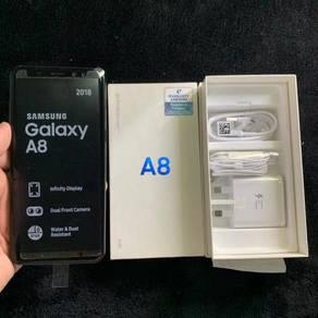 Samsung A8 2018 Black (CAN TRADE)