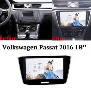 Volkswagen pessat 16 10* android player 1 RAM 16G