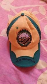 Topi hijau kuning rare