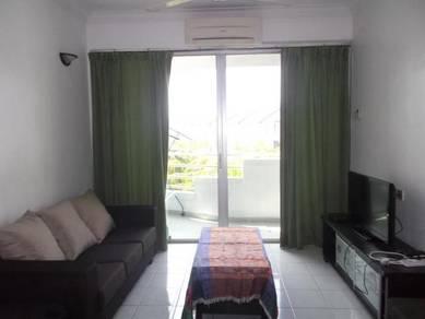 N Park condo batu uban fully furnished (block C, Corner, poolview)