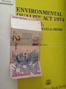 Duit kertas lama Aishah RM2