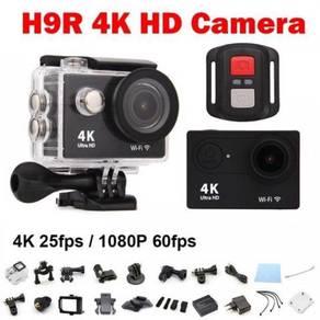 Newest 3IN1 U4k Action Camera Wifi +RemoteControl