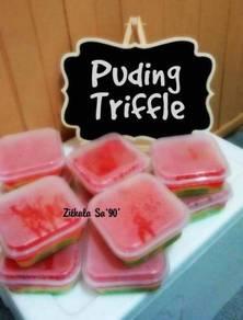 Puding triffle, cheesecake leleh & pelbagai