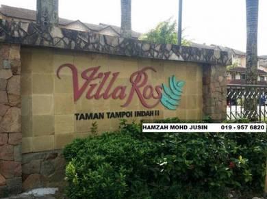 Taman Tampoi Indah/Johor Bahru/4bedroom / low deposit