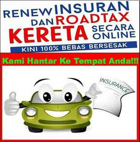 Renew Insuran Dan Roadtax Murah