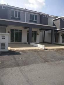 100% LOAN DOUBLE STOREY TERRACE BRAND NEW HOUSE Intermediate RM192K