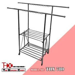Stainless Steel Mobility Cloth Hanger Drying Rack