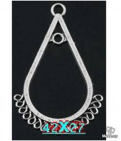 ABPSM-S008 Silver Metal Style_102 Pendant Necklace