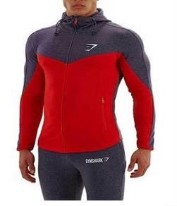 Gym shark hoodie baju tebal