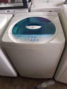 LG 7kg washing machine automatic top load