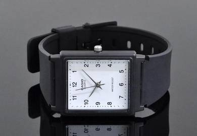 Casio Men Analog Rubber Square Watch MQ-27-7BDF