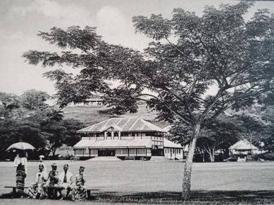 Postcard Selangor CLUB 1910 PC 2655