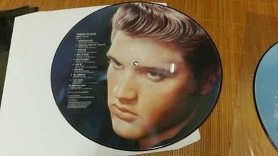 LP Piring Hitam Elvis Presley