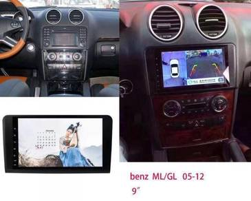Mencedes Benz Ml/GL 05-12 android player 1RAM 16G