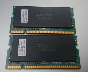 Elpida 512MB Laptop RAM