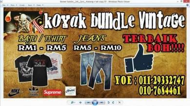 Seluar jeans bundle