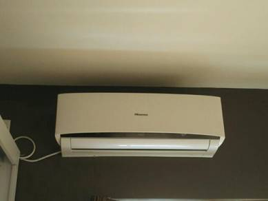 1 Set Hisense 1.5hp air conditioner