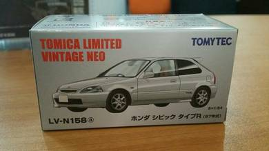 Tomica Limited Vintage Honda Civic Type R EK White