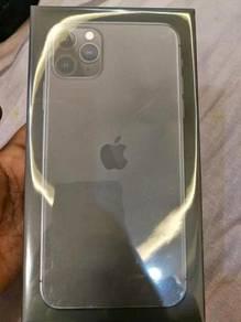 Baru iPhone 11 Pro Max 512GBx. Jual 18OORM jer