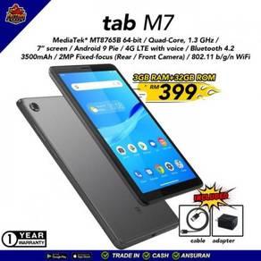 New Lenovo Tab M7 2GB ram 32GB rom 4G foc case
