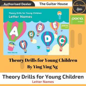 Theory Drills for Young Children : Letter Names