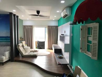 Sri Kristal Near All Seasons Place FULLYeno F/Furnished Air-Cond 886sf