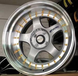 Sport rim work miester S1 17x10JJ 4x100mm new