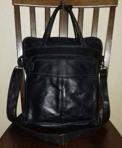 Cross Body/ Messenger Bag Leather Anson