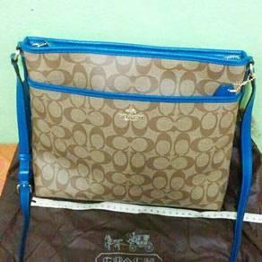 Branded coach crossbody bag