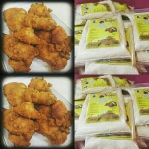 Tepung goreng ayam ala2 Saudi Arabia