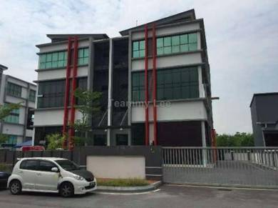 Prime Area 3sty Semi-Detached Factory Lift Taman Perindustrian Mega 22