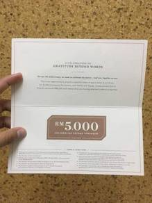 Ecoworld 5K Voucher - Fully Transferable