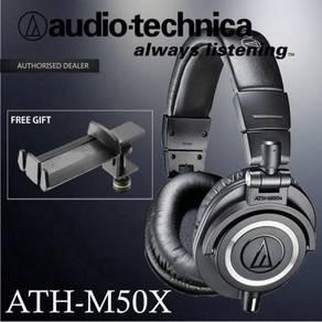 Audio-Technica ATH-M50x Headphone w/ Holder (M50x)