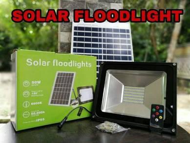 Solar floodlight