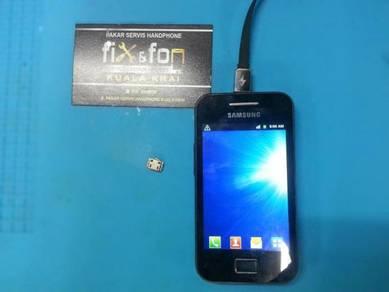 Baiki Masalah Port Charge Model Samsung Galaxy Ace