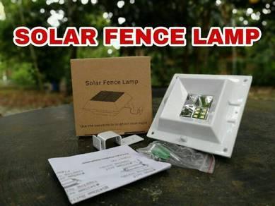 Solar Fence Lamp