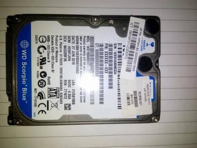 WD Blue 160GB 2.5