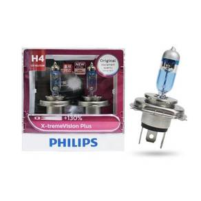 Genuine Philips H4 Xtreme Vision +130% Light Bulb