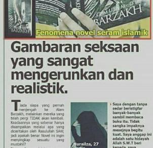Novel islamik thriller